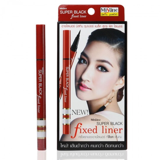 Mistine Super Black Fixed Liner 眼線筆 by hermana beauty 認證優網店